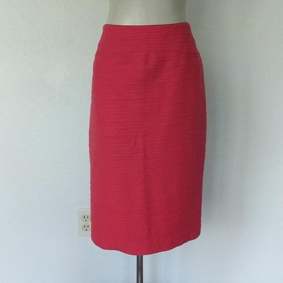 Moulinette Soeurs Dresses & Skirts - Anthropologie Pink textured pencil skirt